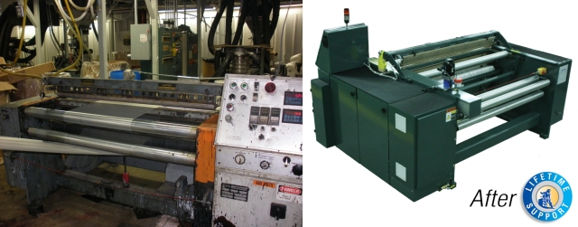 Gloucester Engineering Bag Machine Rebuild